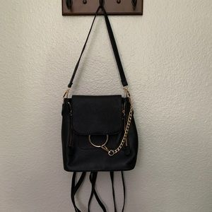 Black purse/backpack